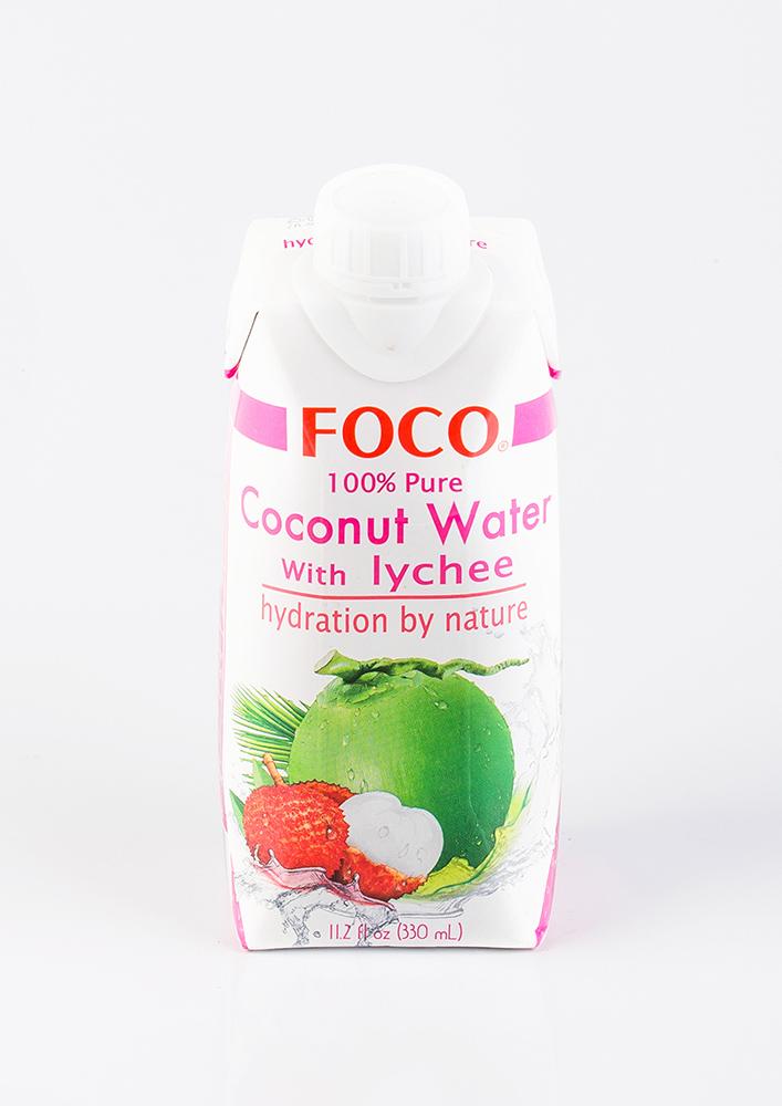 Кокосовая вода с соком личи