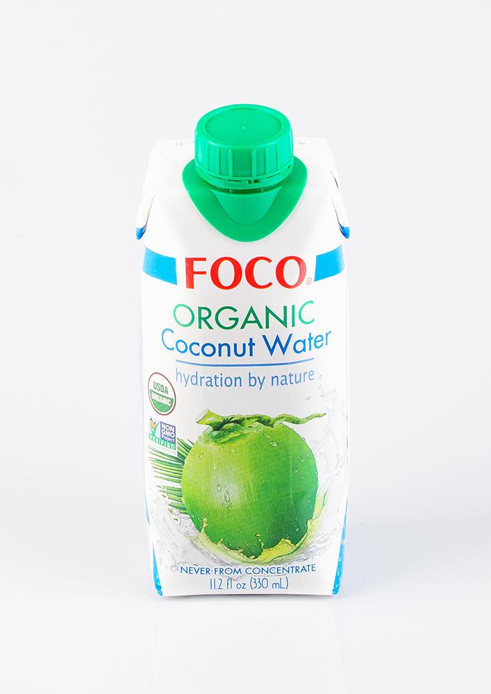 Органическая кокосовая вода Foco, 330мл