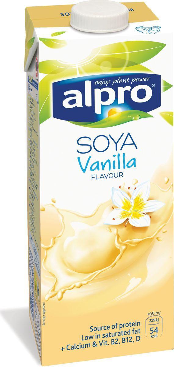 Напиток соевый со вкусом ванили обогащенный кальцием и витаминами ALPRO 1,8% ALPRO, 1л