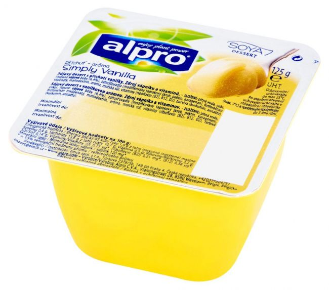 Десерт соевый ванильный 1,8% ALPRO, 125г