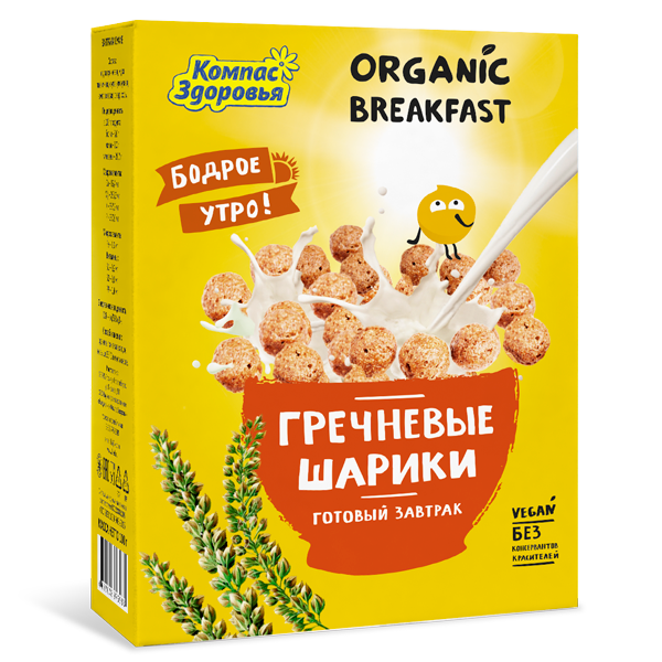 Завтраки сухие