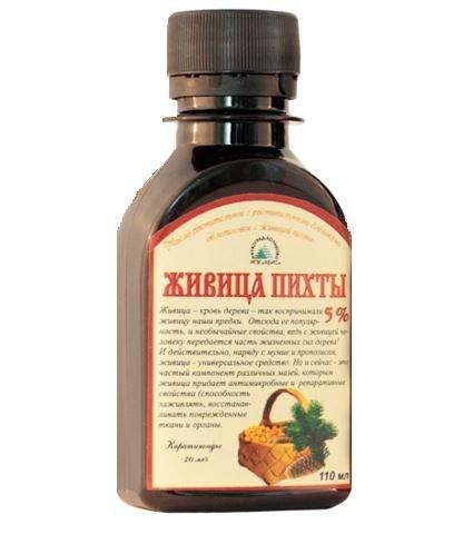 Живица 5.0% - масло облепиховое с живицей пихты 110 мл