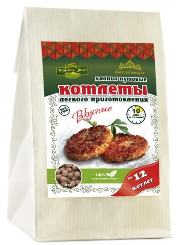 Котлеты нутовые с асафетидой ИП Корниенко/230гр.