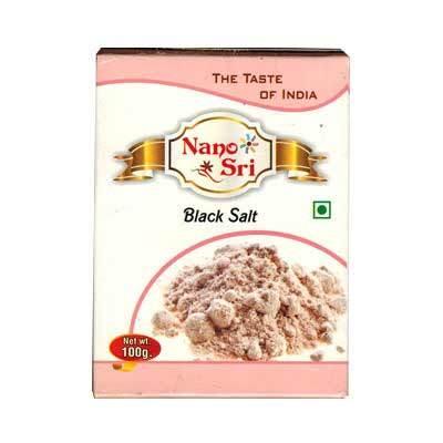 Индийская черная соль (Nano Sri), 100г