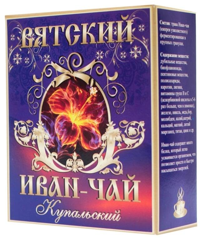 Вятский Иван Чай Купальский крупные гранулы, 100г