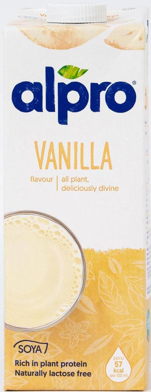 Напиток соевый со вкусом ванили ALPRO/1л.