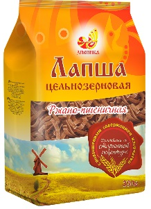 Лапша ржано-пшеничная ц\з, 300гр.\Дивинка