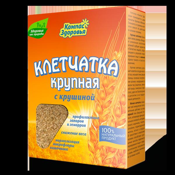 Клетчатка пшеничная с крушиной,150 гр.