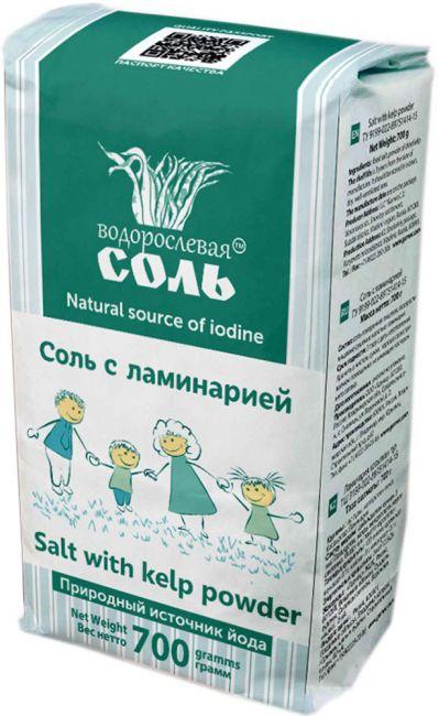 Соль с ламинарией, 700г