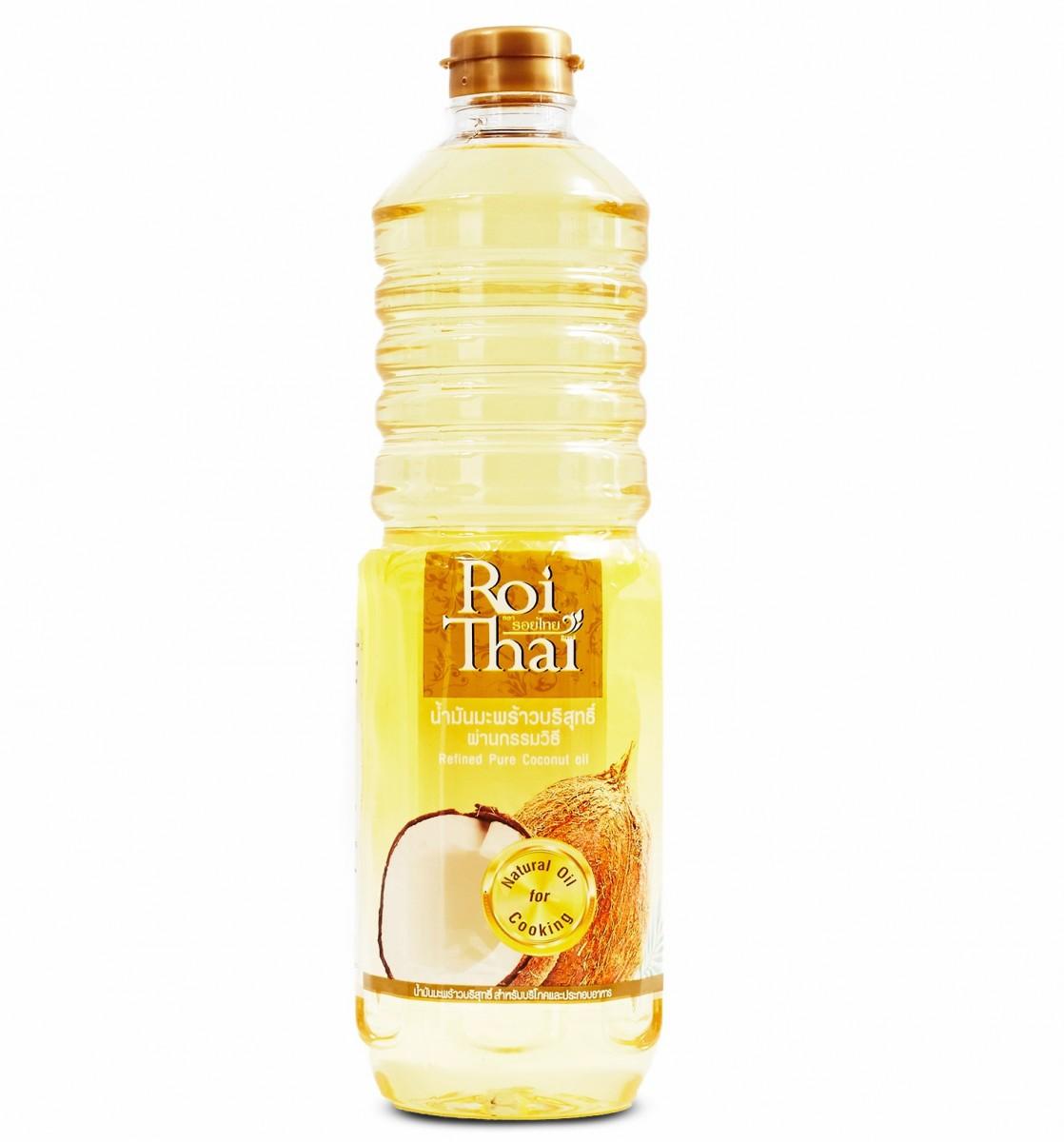 100% рафинированное кокосовое масло, 1л.