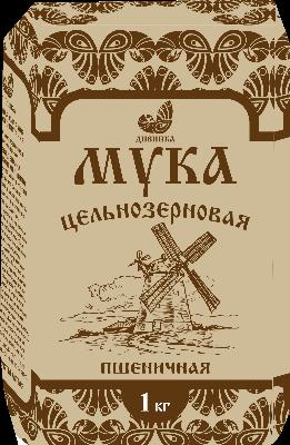 Мука пшеничная ц\з, 1кг Дивинка