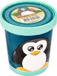 Мороженое фундук, 33 пингвина, 490мл