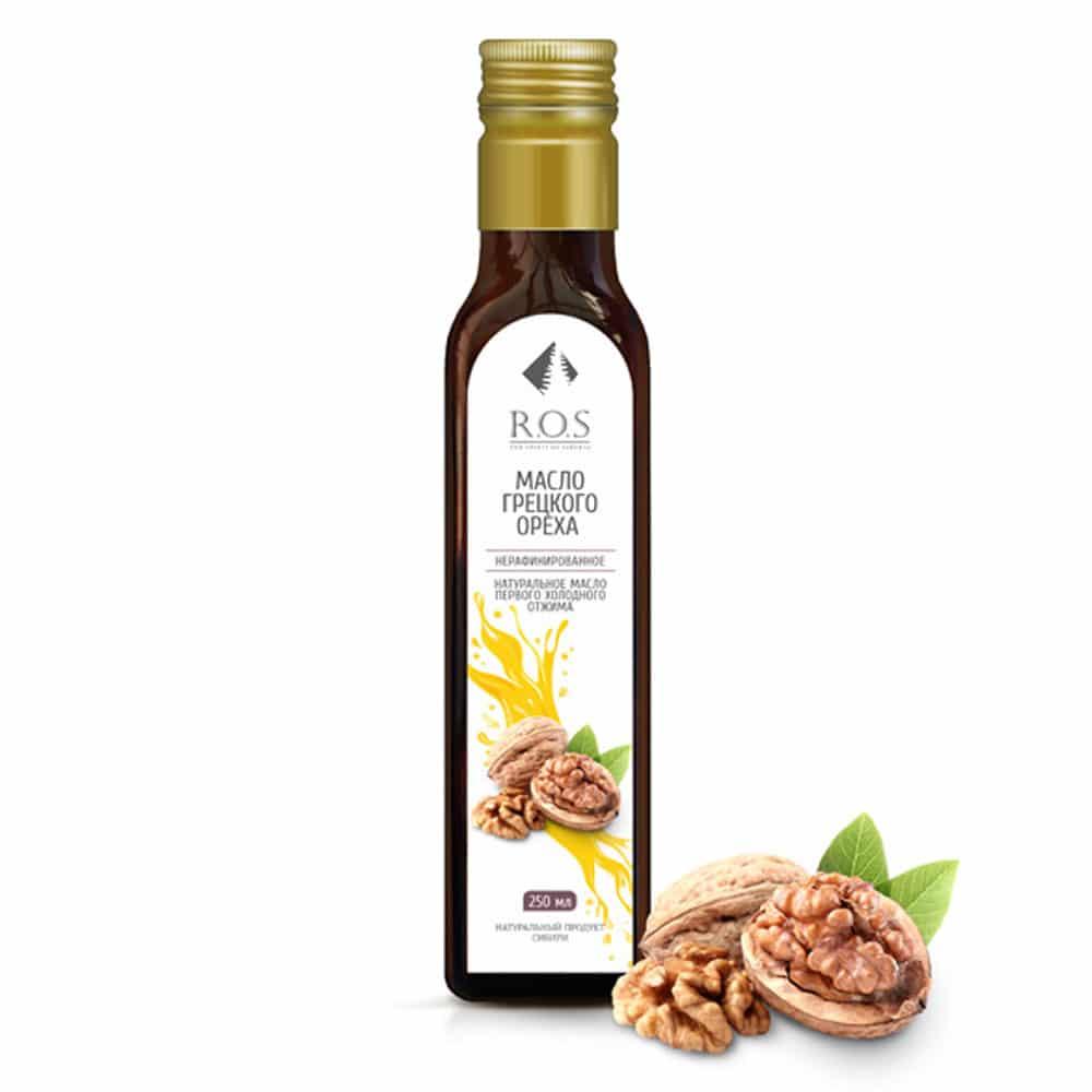 Грецкого ореха масло 250 мл\ Рось