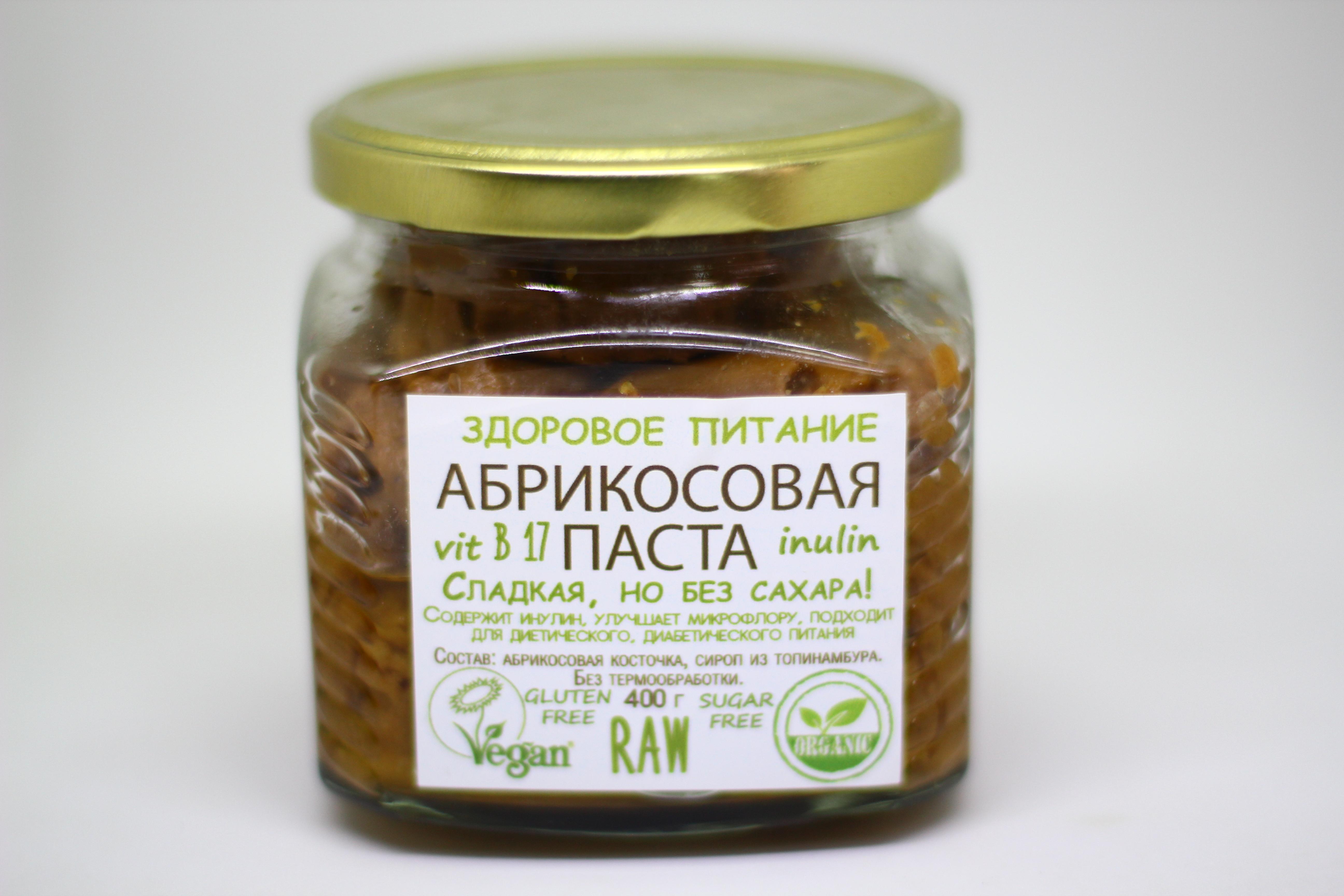 Абрикосовая паста, с сиропом топин., 400г