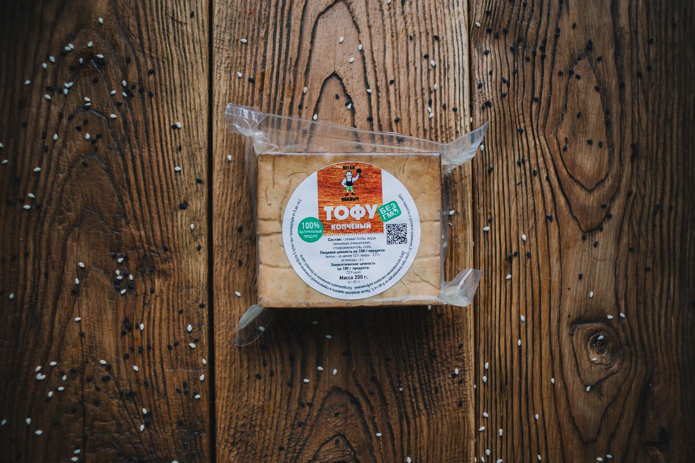 Тофу копченый