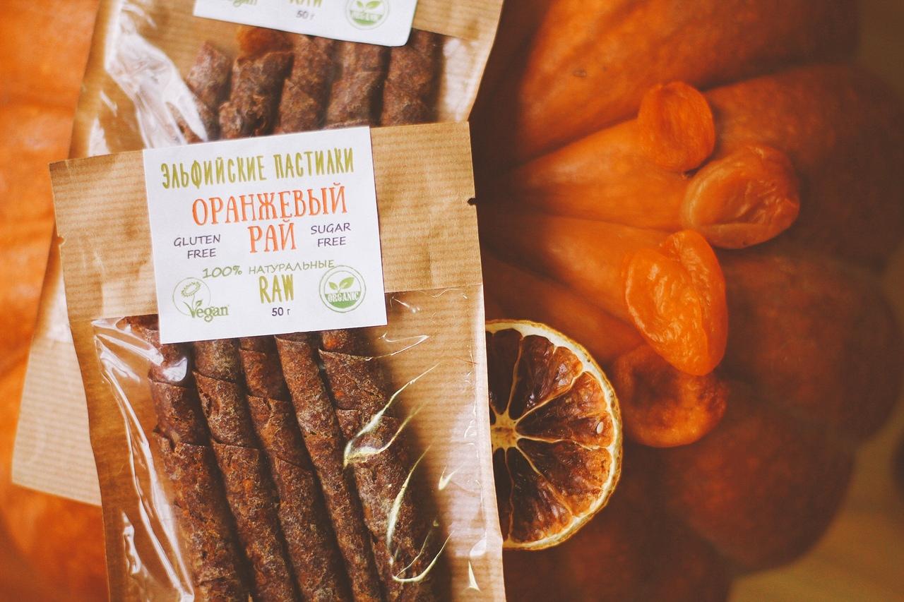 Пастилки Оранжевый рай,50 гр.