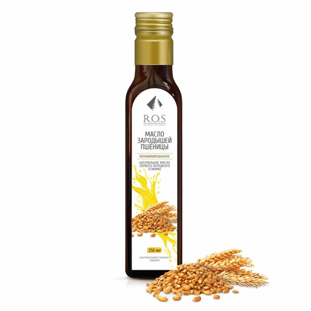 Зародышей пшеницы масло 250 мл.\стекло