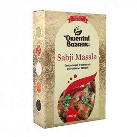 Sabji Masala / Смесь специй и пряностей для тушеных овощей 100 гр