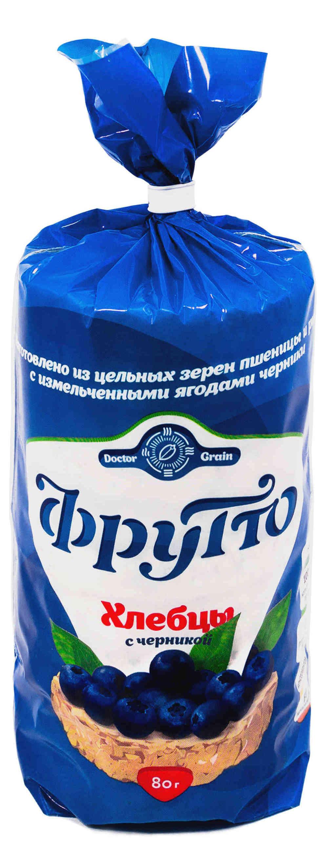 Хлебцы Фрутто с черникой 80гр