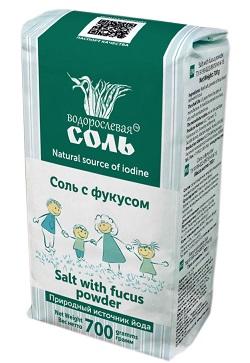 Соль с фукусом, 700г