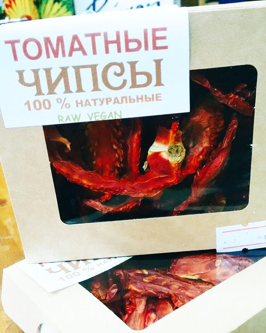 Чипсы томатные, 30г
