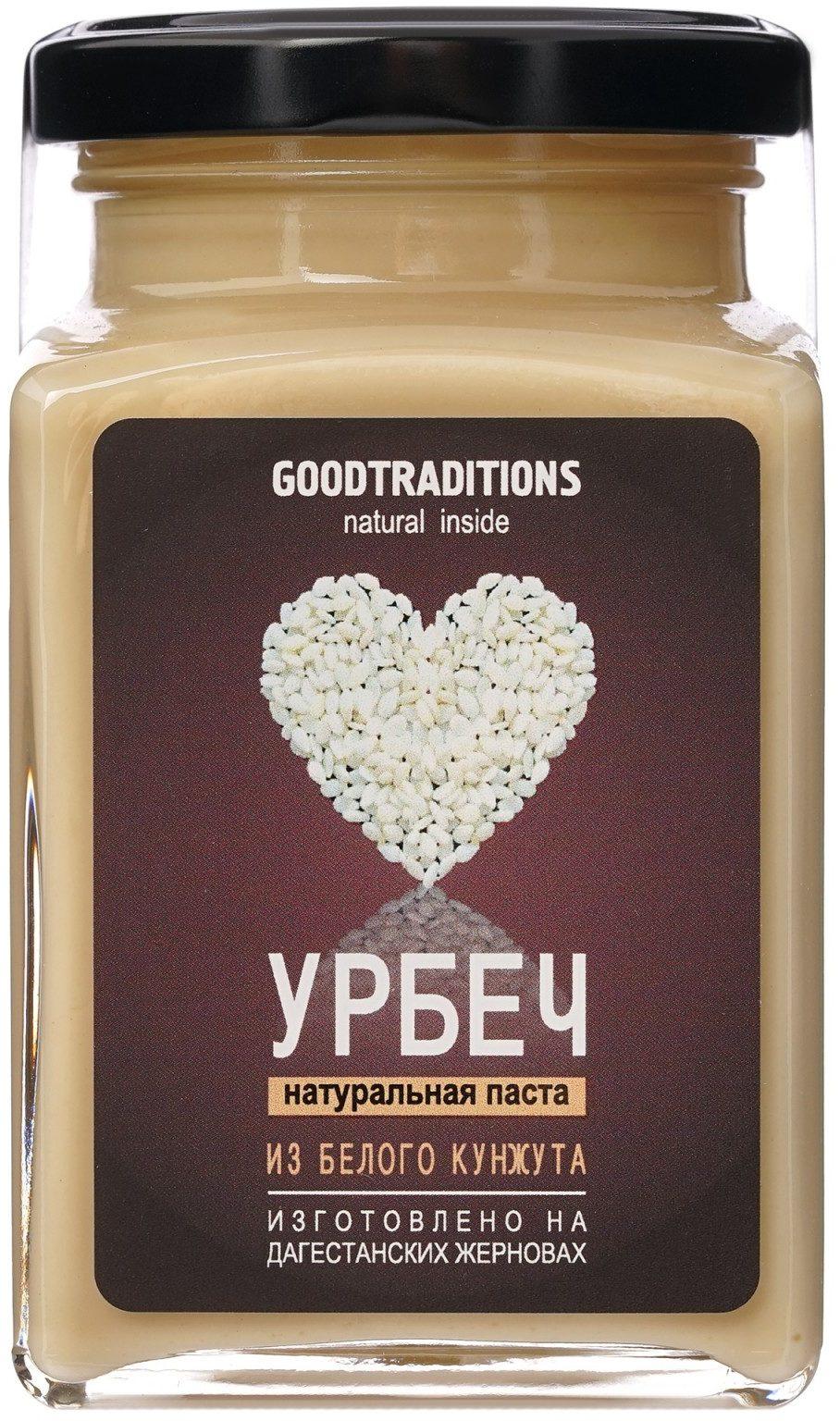 Урбеч из кунжута белого Добрые традиции/230гр.