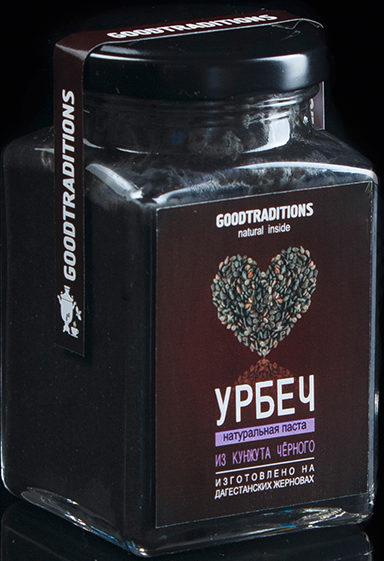 Урбеч из кунжута черного Добрые традиции/230гр.