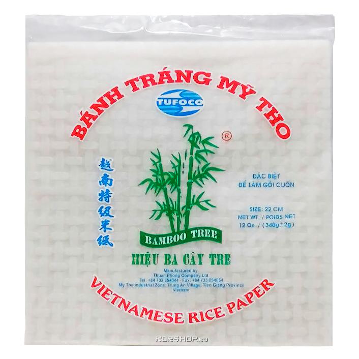 Рисовая бумага квадратная BAMBOO TREE
