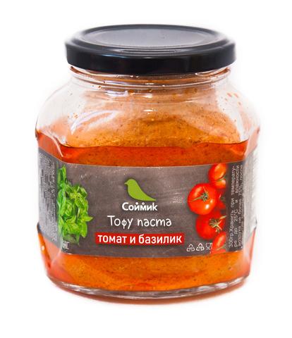 Тофу паста томат базилик 300 гр