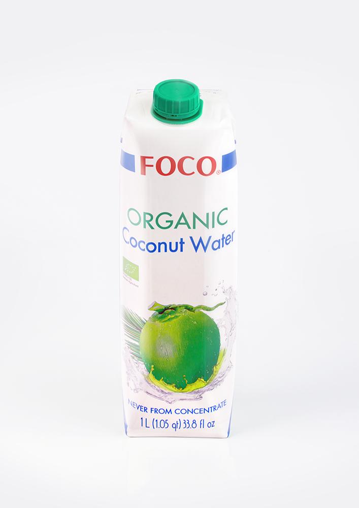 Кокосовая вода ORGANIC/1 л. FOCO