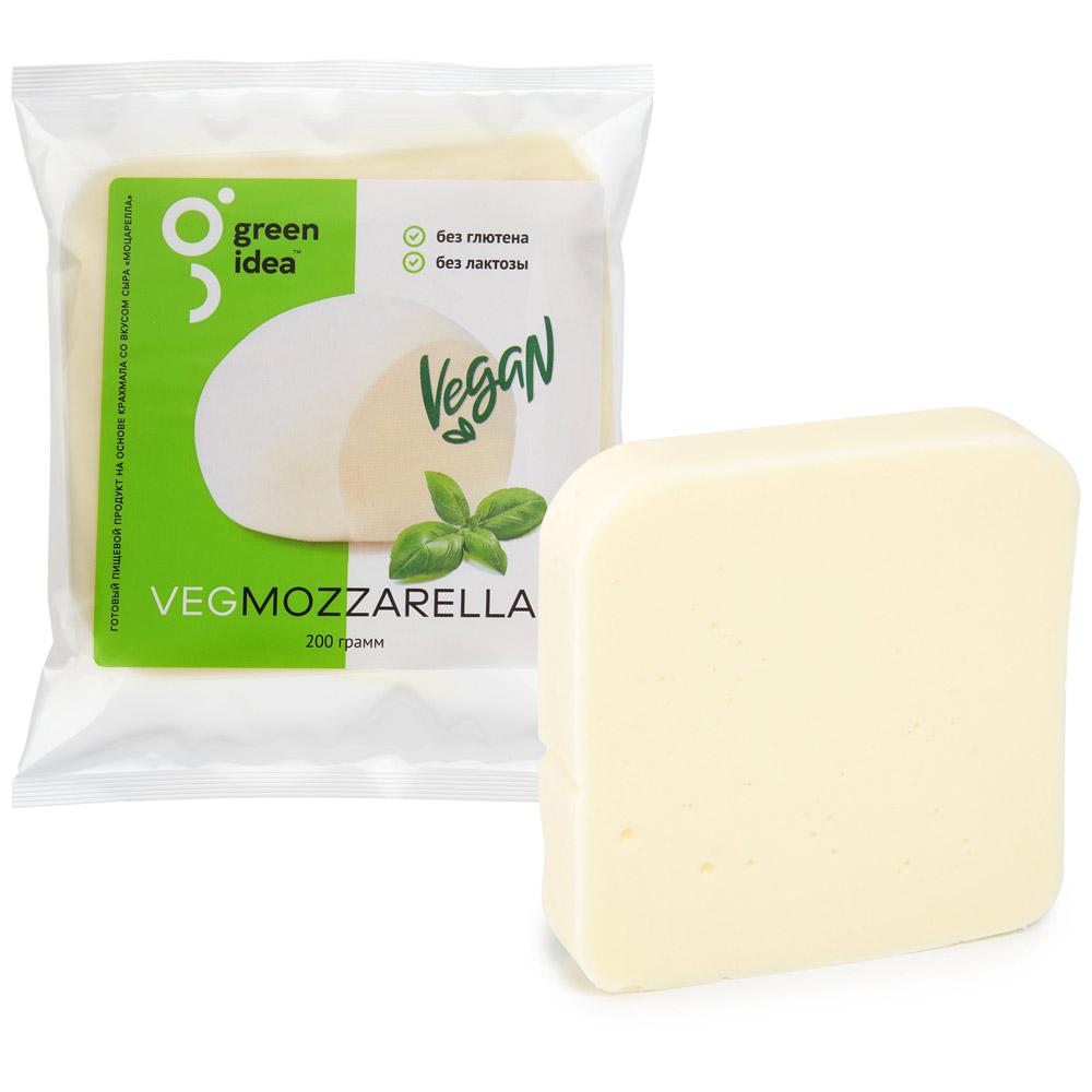 Моцарелла Green Idea кусок 200г