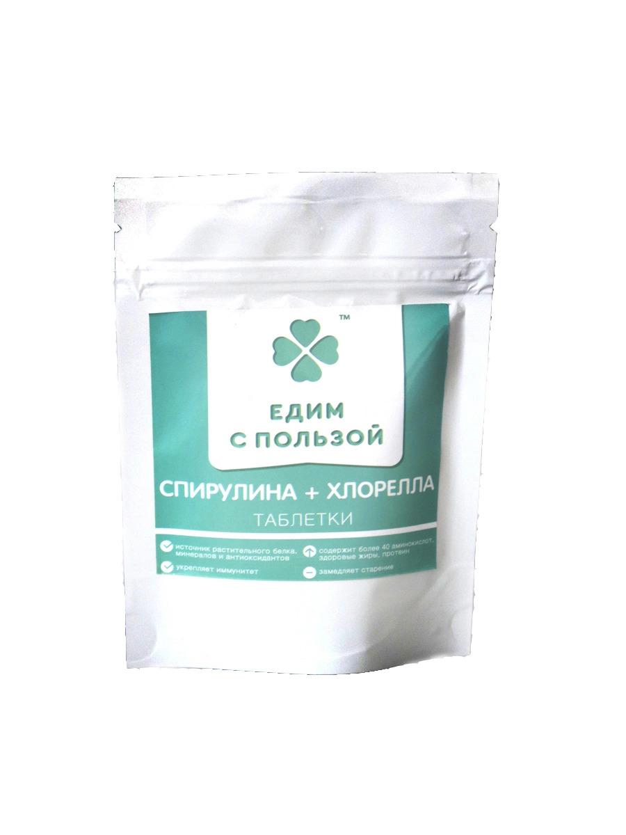 Спирулина+хлорелла 55 гр.