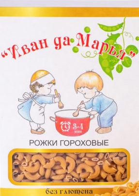 Рожки гороховые Иван да Марья/400гр.