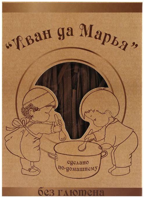 Лапша гречневая Иван да Марья/250гр.