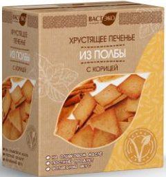 Печенье из полбы с корицей Вастэко/170гр.